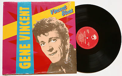 ♫ LP - GENE VINCENT: Vincent Blues  (1987, World Music)  ☠  Rockabilly