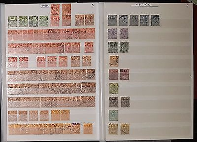 GB KGV 1912-24 Wmk Royal Cypher Mixed Collection Stamps (No407)