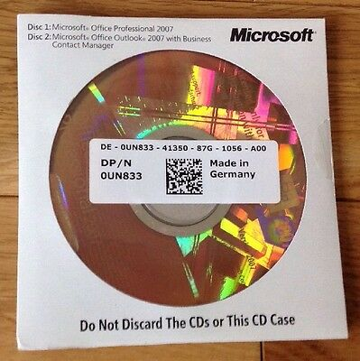 Microsoft Office Suite Professional 2007 For Windows Xp Vista 7 8 And 10