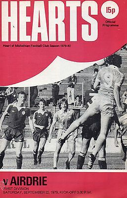 79/80 Heart of Midlothian v Airdrieonians