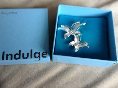 Indulgence Pretty Brooch Brand New & Boxed Perfect Gift