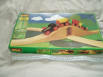 Brio Wooden Train Set