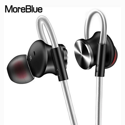 Metal Stereo Headphones HIFI Super Bass Headset Sport Running Earphone With Mic