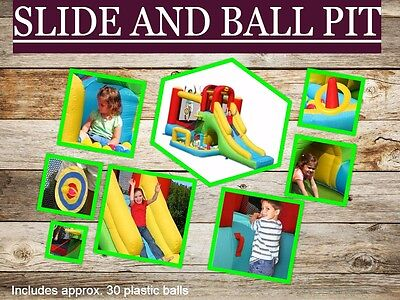 Jumping Castle with Slide and Ball Pit (Happy Hop)