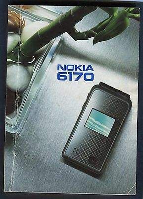 User Guide Nokia 6170 Mobile Phone