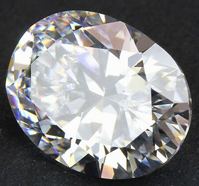 HUGE Unheated 50.62ct VVS White Sapphire 18X25mm Oval Cut AAAA Loose Gemstone
