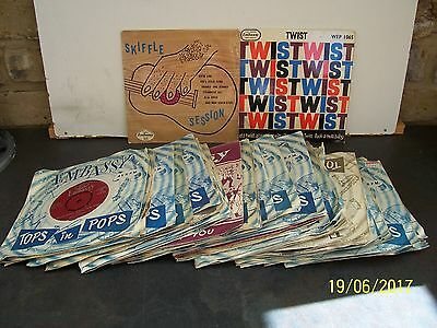A Collection Of Embassy Records 43 Singles And 2 Ep's     Con Ex