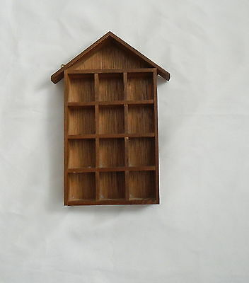Wooden Thimble Display Stand - Holds 14 Thimbles