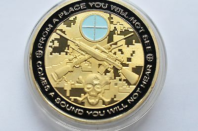Coin You Can Run But You Will Only Die Golden Commemorative 911 Coin Collection