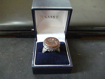 Antique Silver Seal Ring