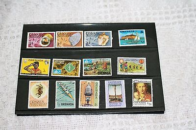 Collection Of Mint Stamps From Grenada