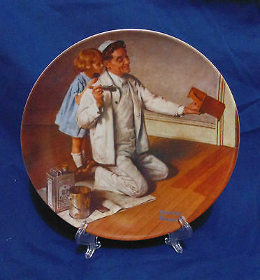 """""""the Painter"""" - Norman Rockwell - The Rockwell Heritage Collection"""