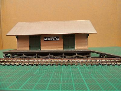 HO Scale Weatherboard Goods Shed suit VR, Auscision, Austrains, Trainorama