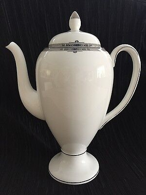 Wedgwood Amherst Bone China Coffee Pot. Excellent Condition.