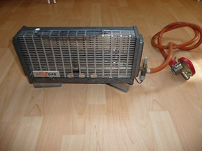 AKS Gas camping heater with regulator