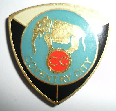 Old  Coventry  City  Football  Club  Non  Enamel  Badge
