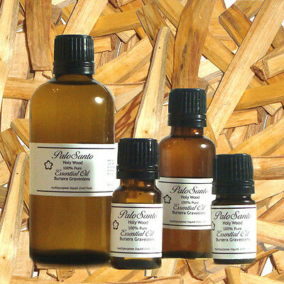 Palo Santo (Holy Wood) 100% Pure Essential Oil - 100ml