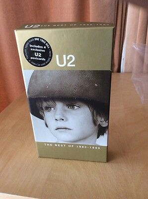 U2 The Best Of 1990-200 Vhs Video Tape.