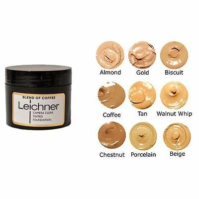Leicher Camera Clear Tinited Foundation 30ml - Various Shades