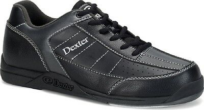 Mens WIDE Dexter Ricky III Bowling Shoes Black/Alloy Sizes 9 - 13 WIDE