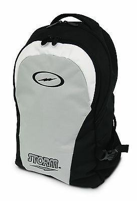 Storm Bowling Ball Company Tournament Backpack Black & Silver