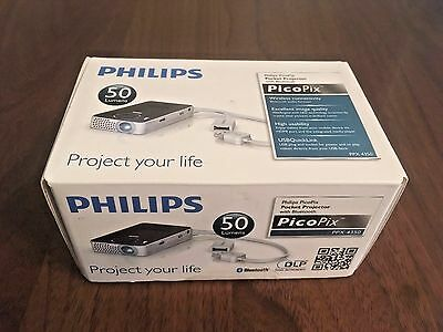 Philips Picopix Ppx 4350 Ppx4350 | Wireless Pocket Projector | New Sealed