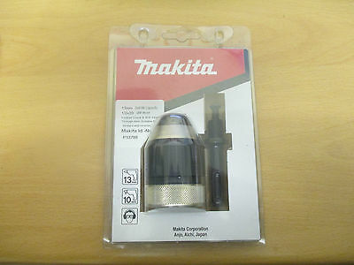 Genuine Makita SDS Plus Keyless 13mm Chuck and Adaptor P-33788 Convert From SDS