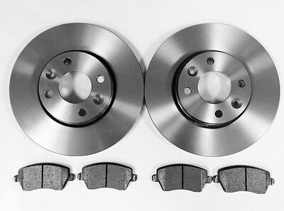 Renault Clio Mk3 New Front Vented Brake Discs And Pads