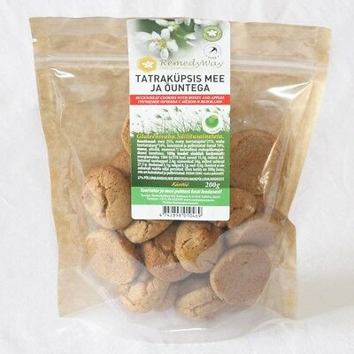 Gluten-Free Buckwheat Cookies With Honey And Apples 200 G