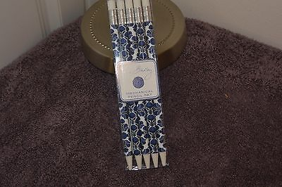 vera bradley mechanical pencil set in cobalt tile