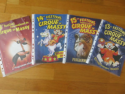 lot programmes cirque Massy