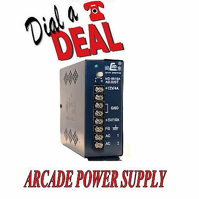 Arcade Power Supply Jamma switch mode  power pack 5v+ 12v+ 16amp