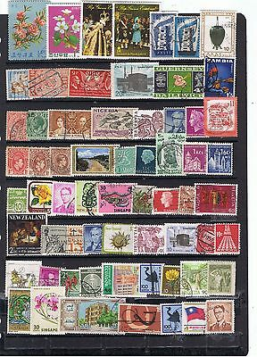 Commonwealth  & Mundiales Usados Worldwide Stamps Used  Lot Dxhtot