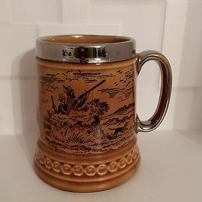 Great Vintage Lord Nelson Tankard Style Mug With Silver Trim.