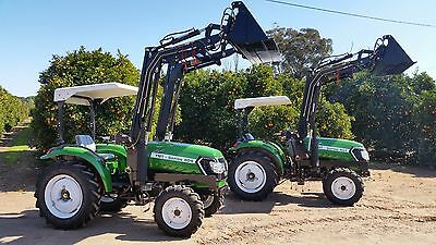 40HP 4x4 Tractor with Front End Loader 4in1 bucket
