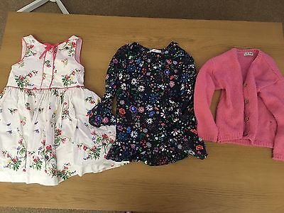 Girls Clothes Bundle Next H&M 5-6 Years 6 Items