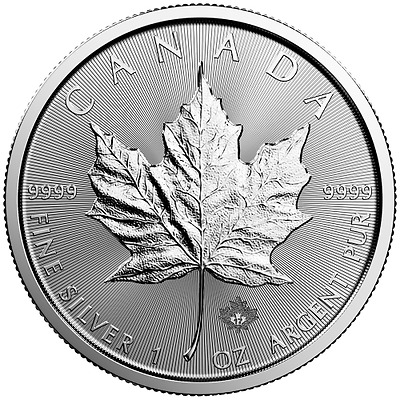 Kanada 5 Dollar 2017 Maple Leaf 1oz Silber