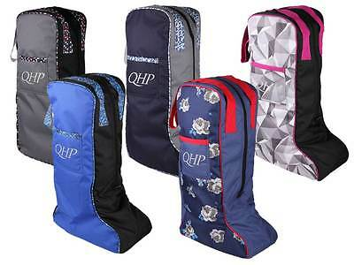 Boot bag, Riding boots bag, water resistant, 5 different Designs