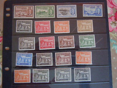Turks Caicos islands-GVI M/M Selection Values To 1/-