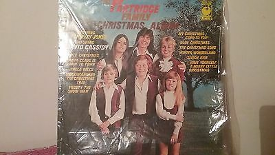 "Vintage Vinyl  Record  12"" Lp The Partridge Family Christmas Album"