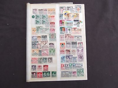 British Commonwealth - Various Mint And Used Overprint Stamps (11)