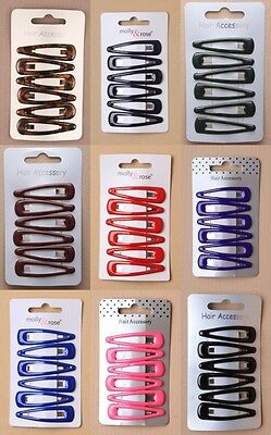 Hair Grips Sleepies Clips Unisex, Sport, Work, Everyday, 1 / 3 cards of 5cm