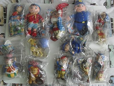 12 McDONALDS NODDY TOYS New & Sealed in Bags
