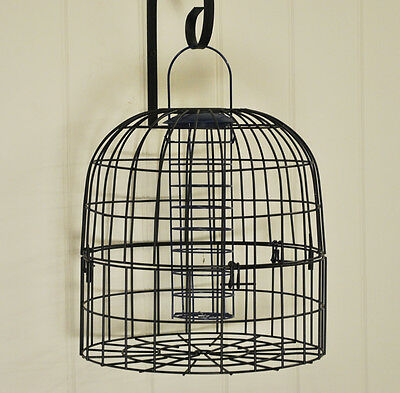 Squirrel Guard Cage for Hanging Bird Feeders by Chapelwood