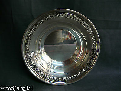 Vintage REED & BARTON SILVER PLATE BOWL ROSE BOWL SILVER PLT  1204  silverplated