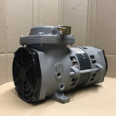 Vacuum Pump- Oil Free-230v- Rietschle- Not Edwards Knf Buchi Vacuubrand Lab