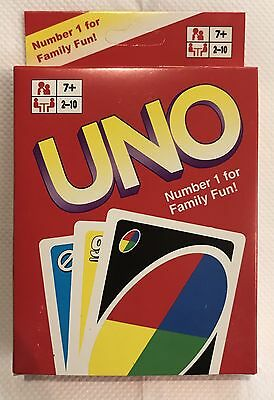 UNO CARDS Family Fun Playing Card Game Free Postage