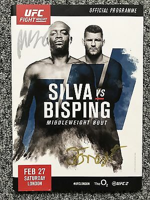 Ufc Fight Night - Official Event Program - Silva Vs Bisping