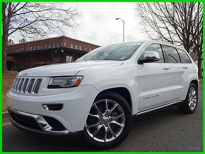 2016 Jeep Grand Cherokee ECO DIESEL 4X4 ONE OWNER CLEAN CARFAX WE FINANCE 3.0L TURBO DIESEL AUTO PANO ROOF BACKUP CAM TOUCHSCREEN NAV HARMAN KARDON BT SXM