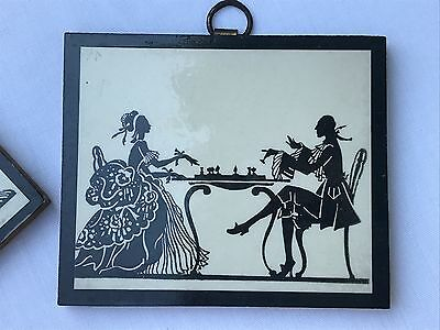 Vintage Silhouettes-Victorian Setting